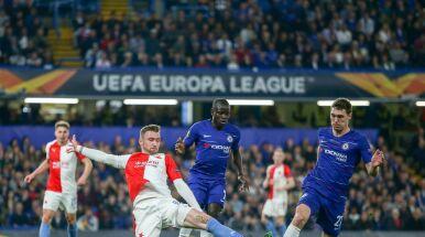 Siedem goli na Stamford Bridge. Slavia wraca z Londynu z podniesioną głową