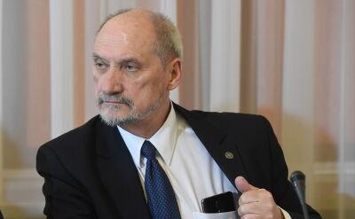 Macierewicz: nie wskazuję przyczyn tej tragedii