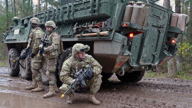 Cztery bataliony na wschodniej flance Sojuszu
