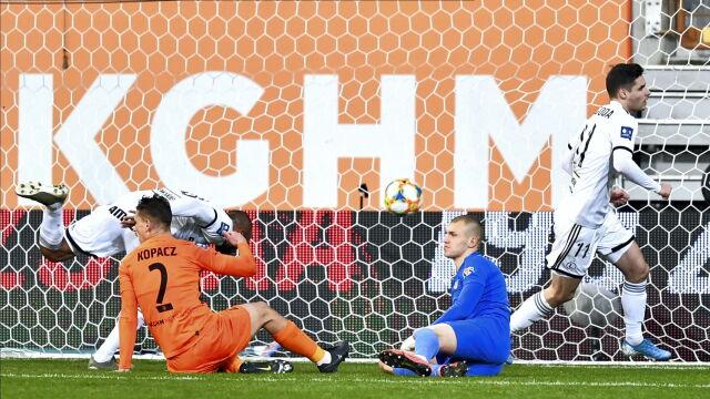 Kolejny gol Niezgody to za mało. Legia przegrała na koniec rundy