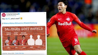 Liverpool podebrał piłkarza. Salzburg sięodgryzł