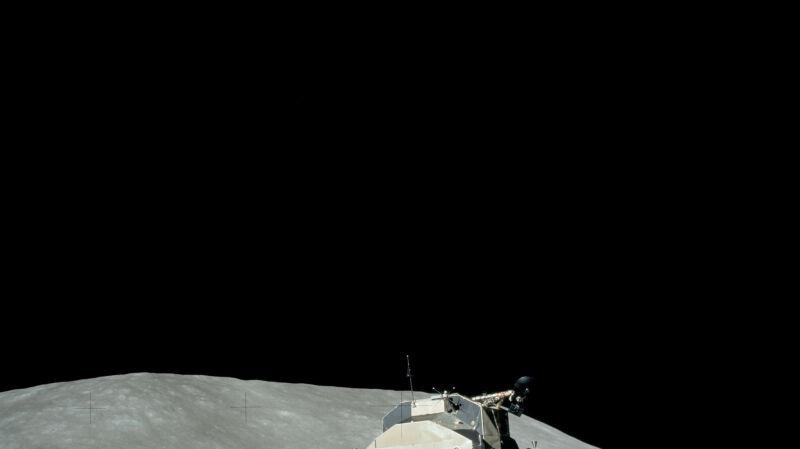 Ostatni start z Księżyca