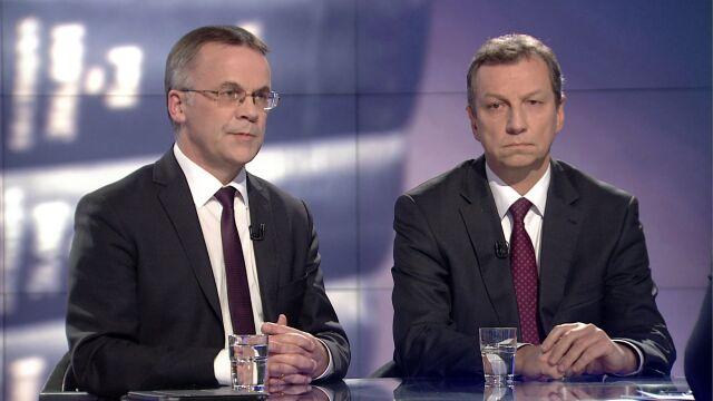 """Andrzej Halicki i Jarosław Sellin byli gośćmi """"Faktów po Faktach"""""""