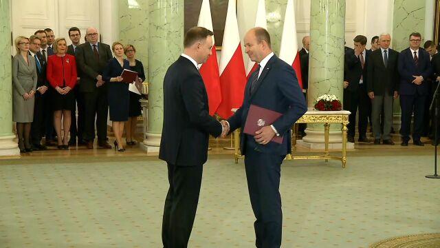 Konstanty Radziwiłł powołany na urząd ministra zdrowia