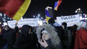 Tysiące Rumunów na ulicach przeciwko zmianom w sądownictwie