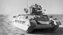 """""""Królowa pustyni"""" - brytyjski czołg Matilda II"""