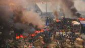 Pan Andrzej, zastępca kierownika ochrony Majdanu: ofiar jest już 30