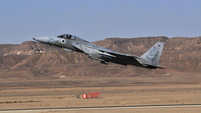 """Spadł zabłąkany pocisk. Izraelski nalot na """"syryjską wyrzutnię"""""""