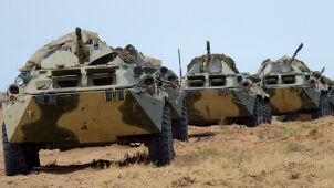 Pokaz siły na Kaukazie. Rosjanie ćwiczą w zbuntowanym regionie Gruzji