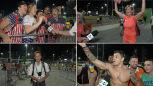 Emocje sportowców i szaleństwo kibiców. Tak reporter TVN24 relacjonował z Rio