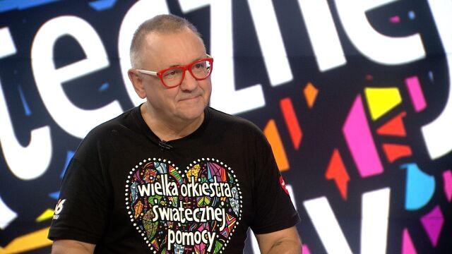"""Jerzy Owsiak w """"Faktach po Faktach"""""""