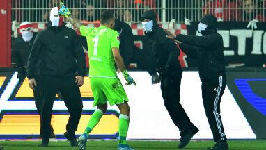 Polski bramkarz postawił się chuliganom. Niemiecki klub i tak nie uniknął kary
