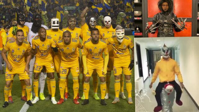 Ronaldo na klaunie, upiory przed meczem. Halloween ogarnęło świat sportu