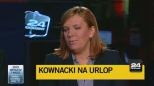 Elżbieta Jakubiak: Czasem jest tak, że jedno słowo decyduje o dymisji