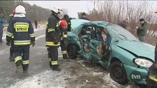 Dwie ofiary wypadku w miejscowości Kuźnica (woj. pomorskie)