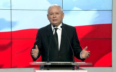 Kaczyński: sądownictwo w Polsce nie zostało odbudowane po okresie PRL