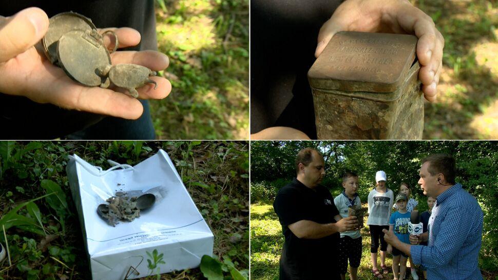 Dziecięcy skarb odnaleziony po 73 latach