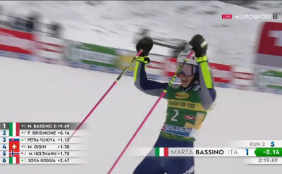 Bassino wygrała slalom gigant w Soelden
