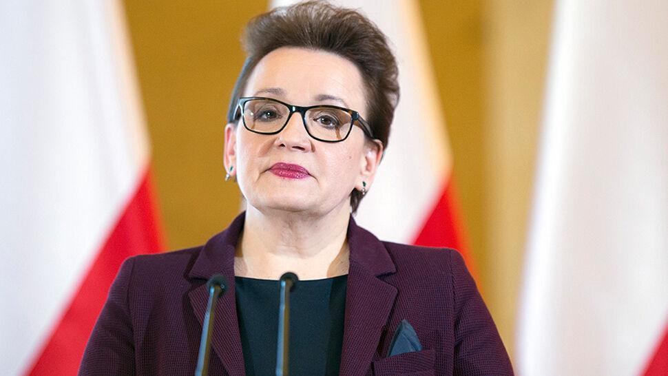 """Minister Zalewska odpiera zarzuty posła Platformy. """"To kłamstwo"""""""