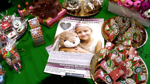 W szpitalu w Białymstoku zorganizowano akcję charytatywną dla 4-letniej Samirki