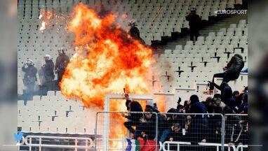 Skandal w Atenach. Zamieszki przed meczem AEK - Ajax