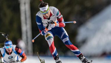Ostatni start króla biathlonu. U boku żony