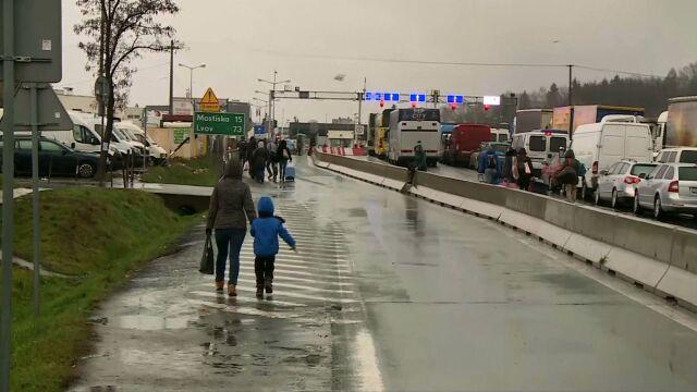 Blokady na granicy z Polską. Ukraińcy protestują po zaostrzeniu przepisów