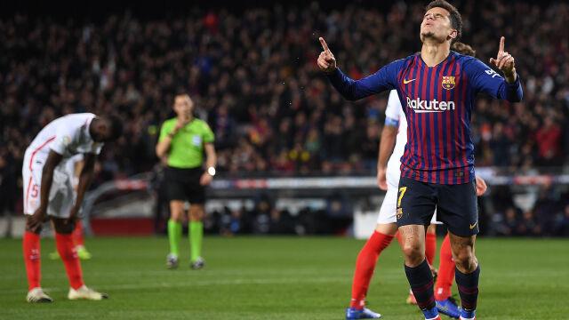 e94ad9e24 Barcelona nie dała szans Sevilli. Sześć goli i awans do półfinału ...