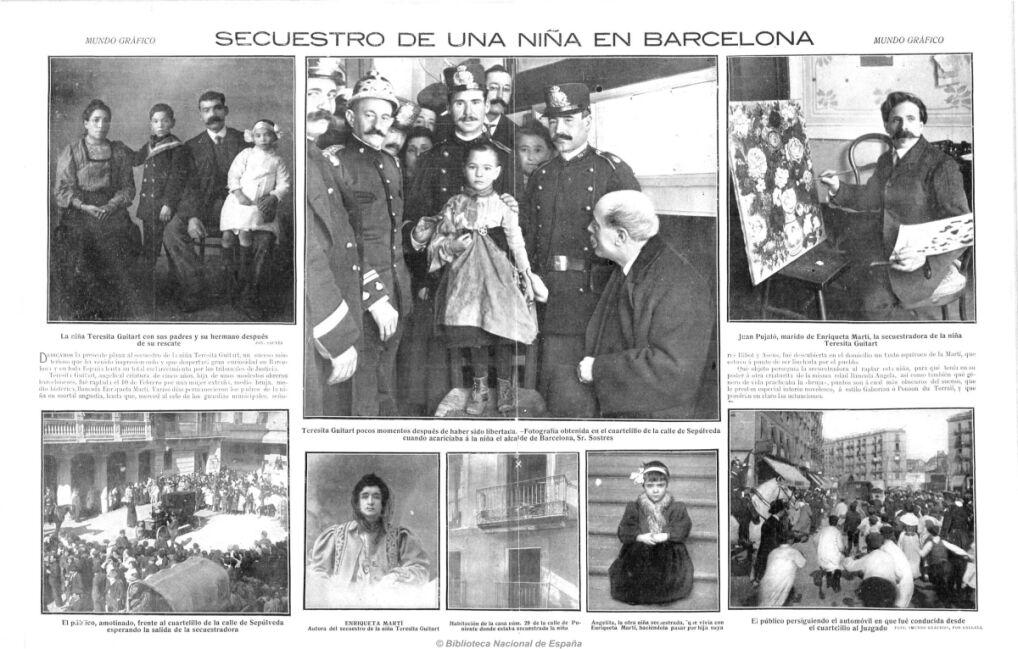 Wampirzyca z Barcelony w Mundo gráfico