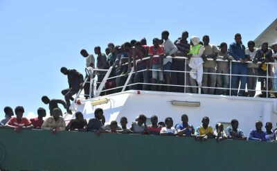 Nie chcą statków z migrantami