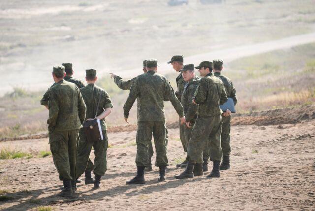 Rosyjski żołnierz zastrzelił oficera i dwóch kolegów. Potem popełnił samobójstwo