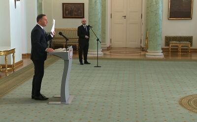Prezydent: przygotowałem projekt zmiany konstytucji