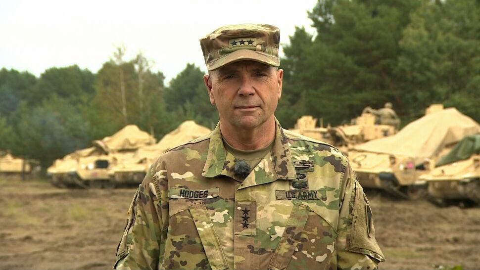 27.09 | Generał Hodges: Rosja widzi siłę sojuszu, siłę polskiej armii