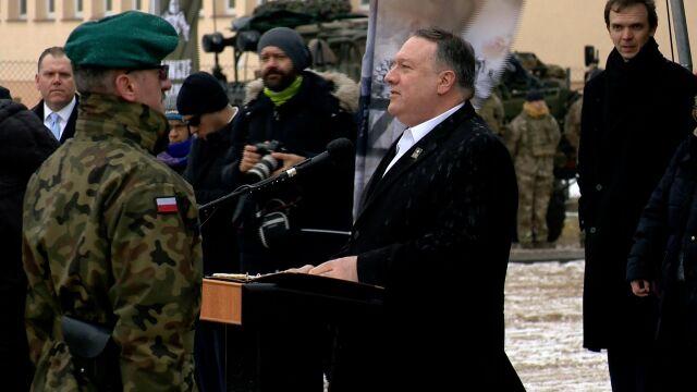 Pompeo: Rosja ma wielkie plany zdominowania Europy