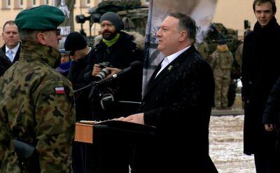 Pompeo: Rosjanie mogą próbować otworzyć drugi front właśnie tutaj