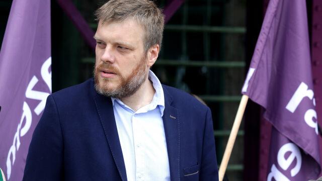 Adrian Zandberg wyklucza koalicję Razem i Wiosny