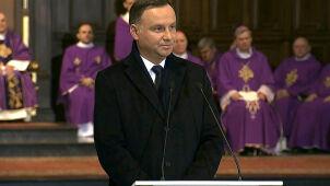 Prezydent o Olszewskim: walczył o Polskę, w której ma zwyciężać uczciwość, a nie cynizm i draństwo