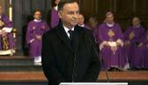 Prezydent: Jan Olszewski był kreatorem historii Polski