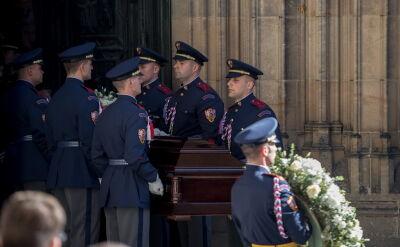 Uroczystości pogrzebowe Karela Gotta w Pradze