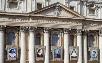 Papież Franciszek kanonizował pięć osób