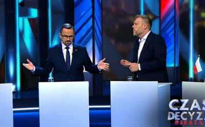 Debata Czas decyzji. Najważniejsze momenty