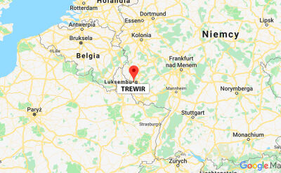 Amerykański F-16 rozbił się niedaleko miasta Trewir