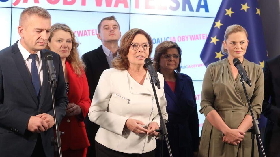 Kidawa-Błońska o Leszczynie: siła argumentów i charakter Izy pokazują, że kobiety powinny w tych wyborach dać radę