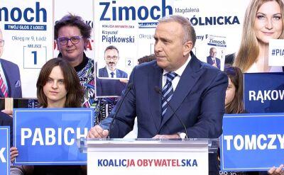 Schetyna: panie Kaczyński, proszę nie straszyć Polek i Polaków, Polska to dumny kraj i przestraszyć się nie da