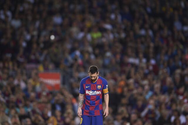 Messi chciał odejść z Barcelony.
