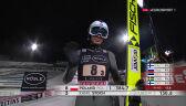 Skok Kamila Stocha z 1. serii konkursu drużynowego w Lahti