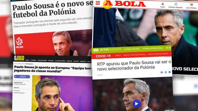 """Portugalczycy chwalą się Sousą. """"Będzie trenował najlepszego piłkarza na świecie"""""""