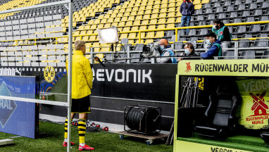 11 słów, żadnych konkretów. Bohater Borussii Dortmund udzielił przedziwnego wywiadu