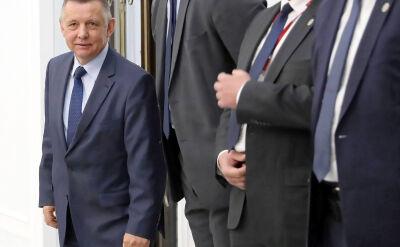 Marian Banaś nie skorzysta z zaproszenia na wtorkowe posiedzenie senackiej komisji