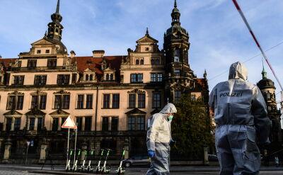 Policja: muzealny skarbiec w Dreźnie okradły dwie osoby